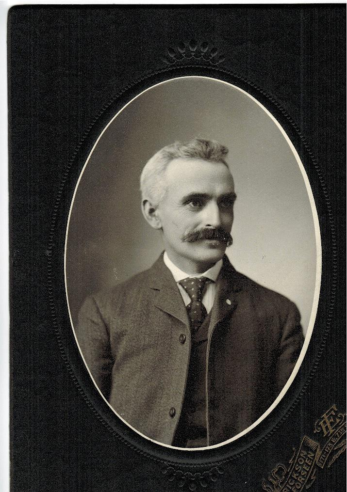 Portrait of Eric Isaacson